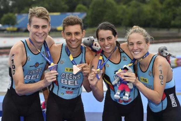Le triathlon mondial s'arrête jusqu'à fin avril