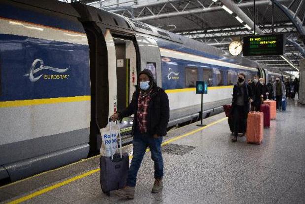 Extra Eurostar-treinen tijdens kerstperiode