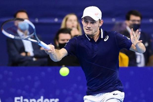 Ranking wijzigt niet na ATP Finals, Goffin sluit seizoen af als nummer 15