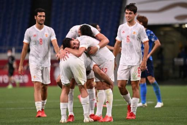 Football: L'Espagne écarte le Japon en prolongations et rejoint le Brésil en finale