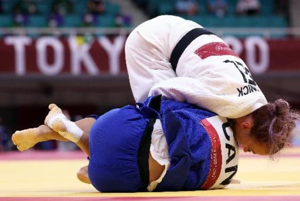 OS 2020 - Judoka Charline Van Snick neemt 1e horde