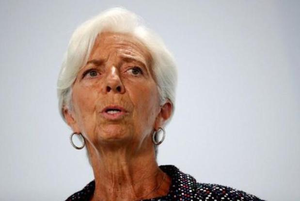 """L'euro numérique, une réalité espérée """"d'ici 5 ans"""", dit Christine Lagarde"""