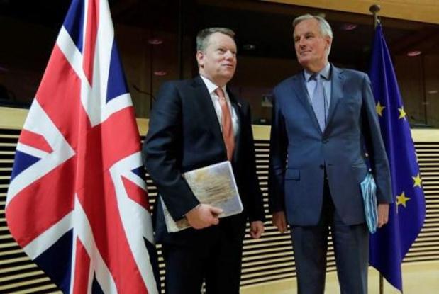 Barnier en Frost pikken moeizame handelsonderhandelingen weer op