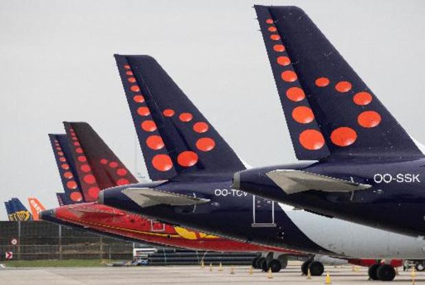 Stakingsaanzegging bij Brussels Airlines
