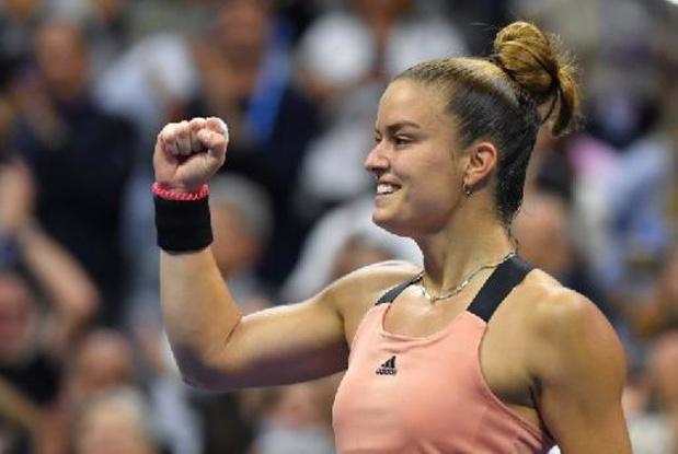 US Open: Sakkari se joue de Karolina Pliskova et rejoint Raducanu dans une demie inattendue