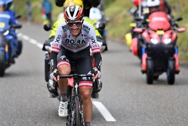 Patrick Konrad s'adjuge la 16e étape après 40 km en solitaire