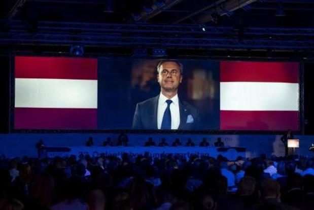 Norbert Hofer nieuwe vooriztter van extreemrechtse FPO in Oostenrijk