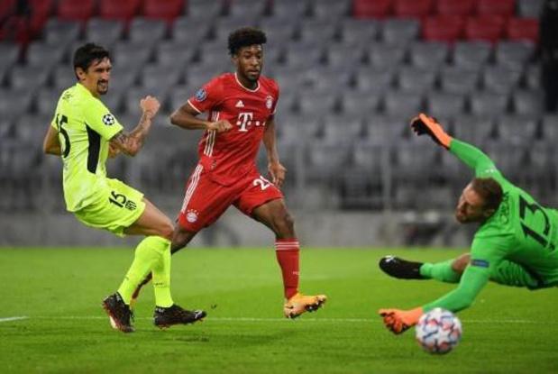 Ligue des Champions - Le Bayern corrige l'Atlético, Lukaku sauve l'Inter, Liverpool et City s'imposent