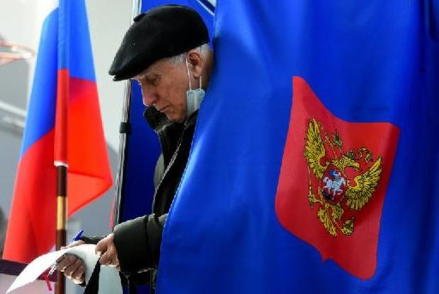 Elections en Russie - Russie: le parti du Kremlin en tête aux législatives avec 38,7%