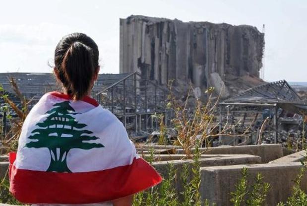 Beyrouth marque la minute dans laquelle elle a basculé dans l'enfer il y a une semaine