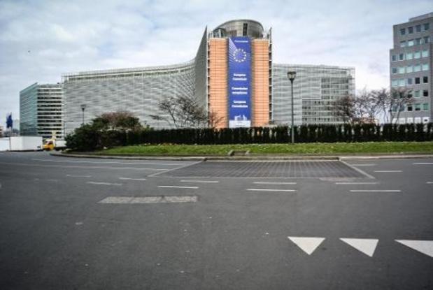 Chinese minderheden protesteren in Brussel tegen mensenrechtenschendingen in China