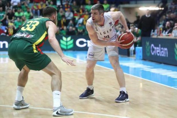 Défaite pour Serron et Bilbao face à Pinar Karsiyaka lors de la Ligue des Champions de basketball