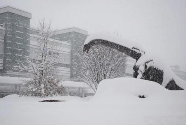 Une tempête hivernale frappe le Japon et fait 8 morts et 240 blessés