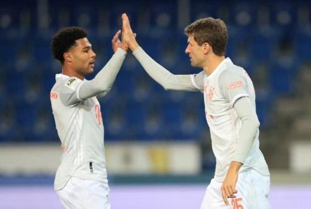 Bayern-Atlético gaat door ondanks coronabesmetting Gnabry