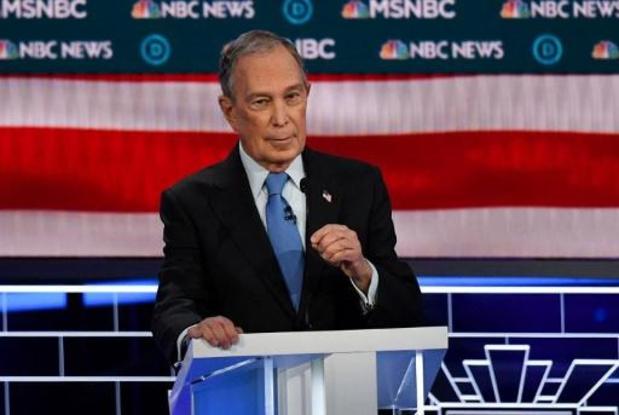 Bloomberg verpulvert record voor campagnefinanciering