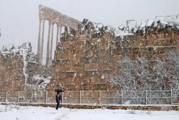Une tempête de neige balaye plusieurs pays du Moyen-Orient
