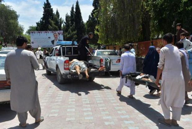 Tientallen slachtoffers na zelfmoordaanslag in Afghanistan