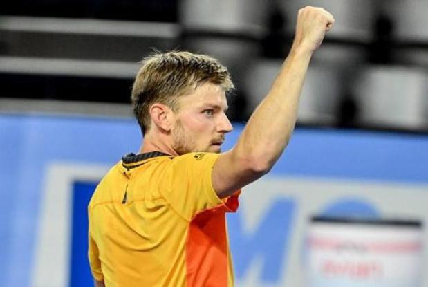 """ATP Montpellier - David Goffin, qualifié pour la finale: """"Je devais rester positif après l'Australie"""""""