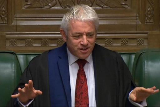 Brexit: la balle est désormais dans le camps du président des Communes John Bercow