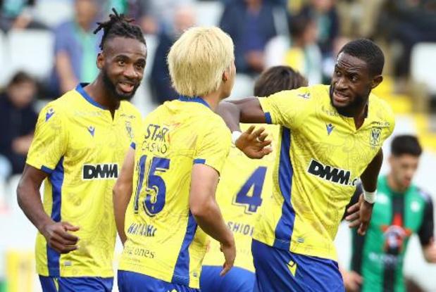 Jupiler Pro League - Premier revers de la saison pour Eupen surpris par Seraing, Saint-Trond s'impose au Cercle
