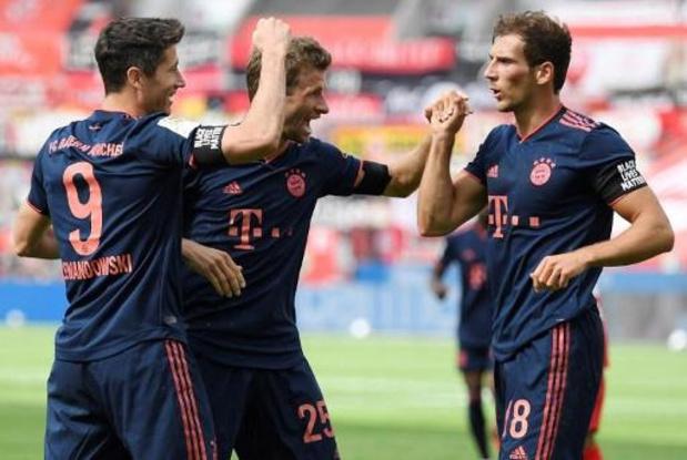 Bundesliga - Le Bayern Munich se montre intraitable également à Leverkusen