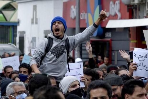 Manifestations contre la répression en Tunisie, couvre-feu prolongé