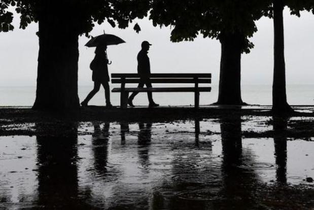 Une matinée pluvieuse, avant le retour des éclaircies