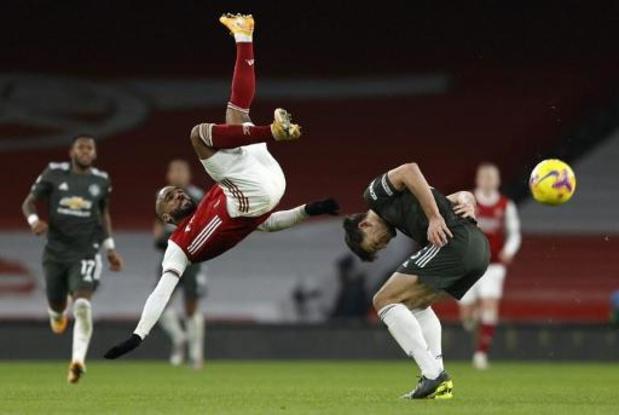 Premier League - Arsenal - Manchester United levert geen doelpunten op