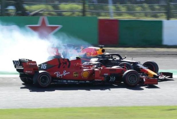 Charles Leclerc perd sa sixième place à Suzuka, amende pour Ferrari