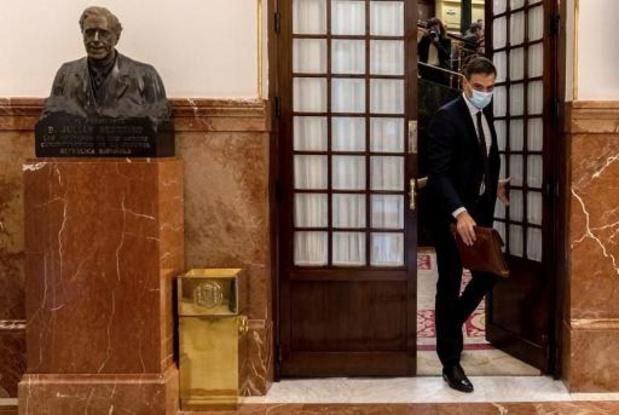 Spaans parlement verlengt nog eens noodtoestand