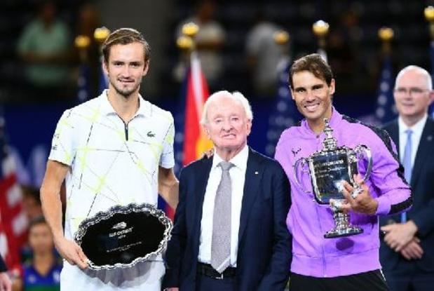 US Open - Erelijst mannen enkelspel