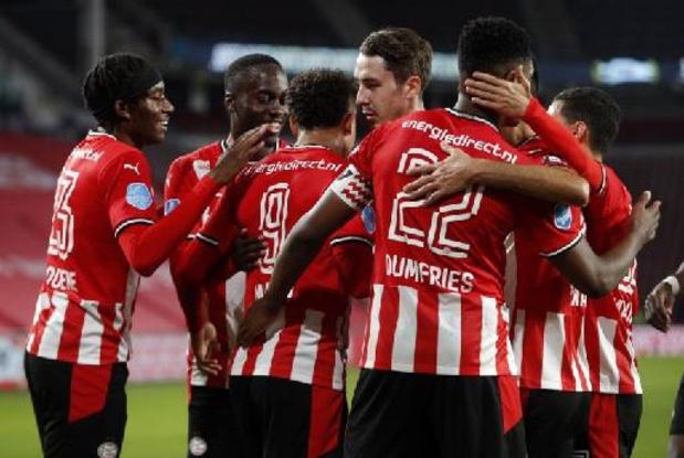 PSV legt beslag op tweede plaats, Willem II bewerkstelligt op de valreep behoud