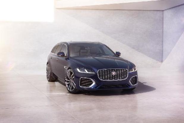 Jaguar XF krijgt update