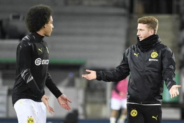 Les Belges à l'étranger - Dortmund, avec ses trois Belges, se hisse en 8es de la Coupe d'Allemagne