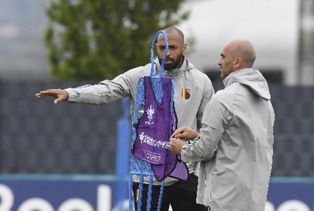 Thierry Henry dans le staff technique des Diables Rouges jusqu'au Mondial 2022