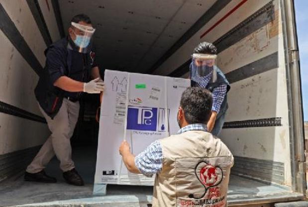 Damas reçoit plus de 200.000 doses de vaccin anti-Covid