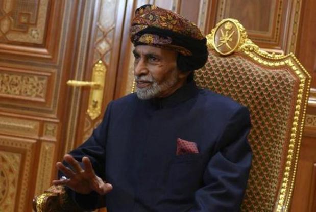 Le sultan d'Oman Qabous est mort à 79 ans