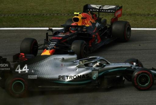 F1 - GP van Brazilië - Hamilton zakt van derde naar zevende stek, eerste podium voor Sainz