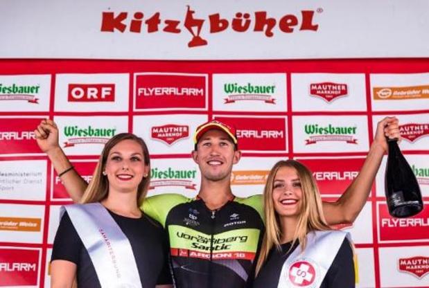 Jannik Steimle houdt sprintend peloton af in Kampioenschap van Vlaanderen