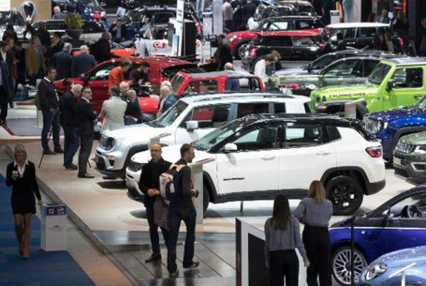 """Salon de l'auto - Ouverture à la presse du """"grand"""" salon de l'auto"""