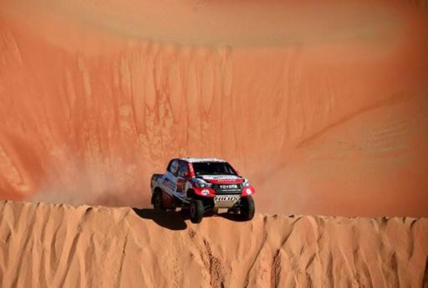 Tom Colsoul termine 7e du Dakar aux côtés de Bernhard Ten Brinke, juste devant Serradori-Lurquin