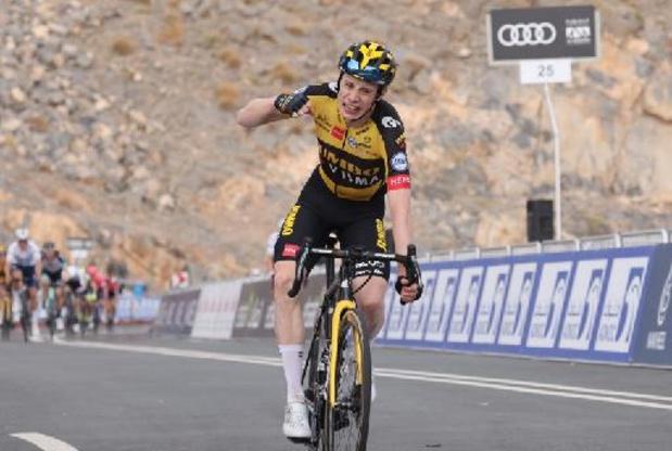 Semaine Internationale Coppi-Bartali: leader du général, Jonas Vingegaard gagne aussi la 4e étape