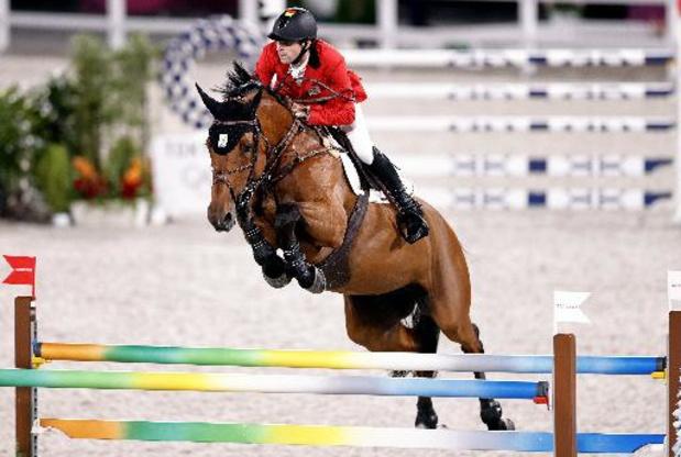 L'équipe belge de saut d'obstacles se classe 2e des qualifications et va en finale