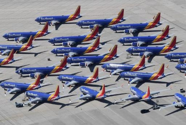 La Chine maintient l'interdiction de vol des Boeing 737 MAX