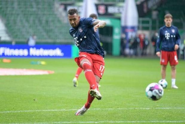 Jérôme Boateng signe pour deux ans à Lyon