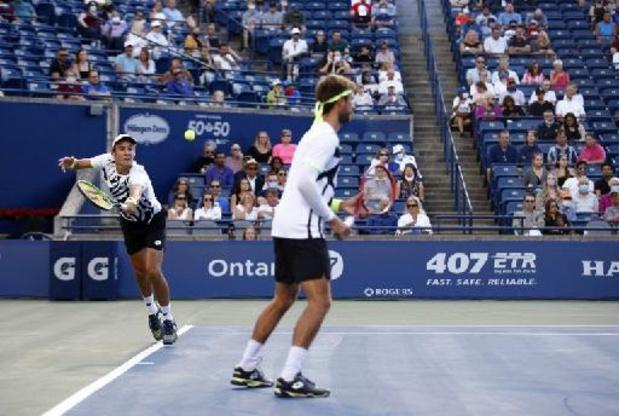AT Toronto - Pas de finale en double pour Sander Gillé et Joran Vliegen