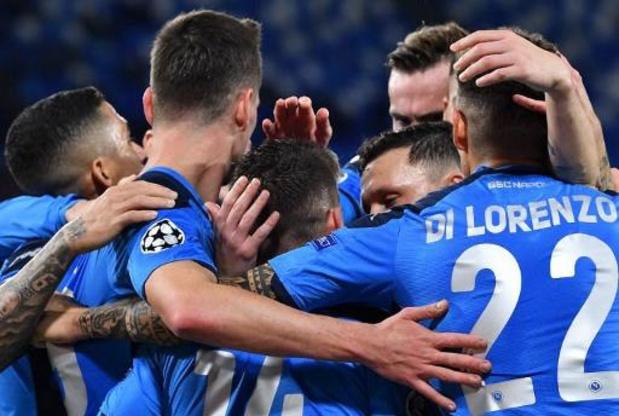 Belgen in het buitenland - Invaller Dries Mertens viert comeback bij Napoli met goal en zege op Sampdoria