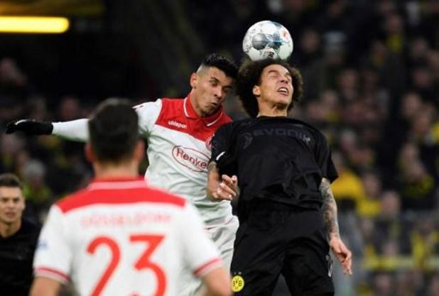 Witsel komt dit jaar niet meer in actie voor Dortmund