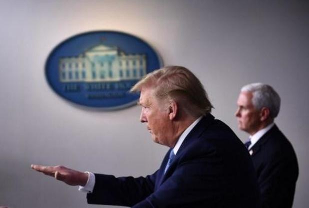Trump appelle à l'unité face au coronavirus