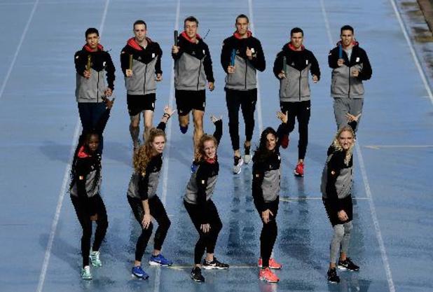 Trois équipes belges pour les relais mondiaux en Pologne samedi et dimanche